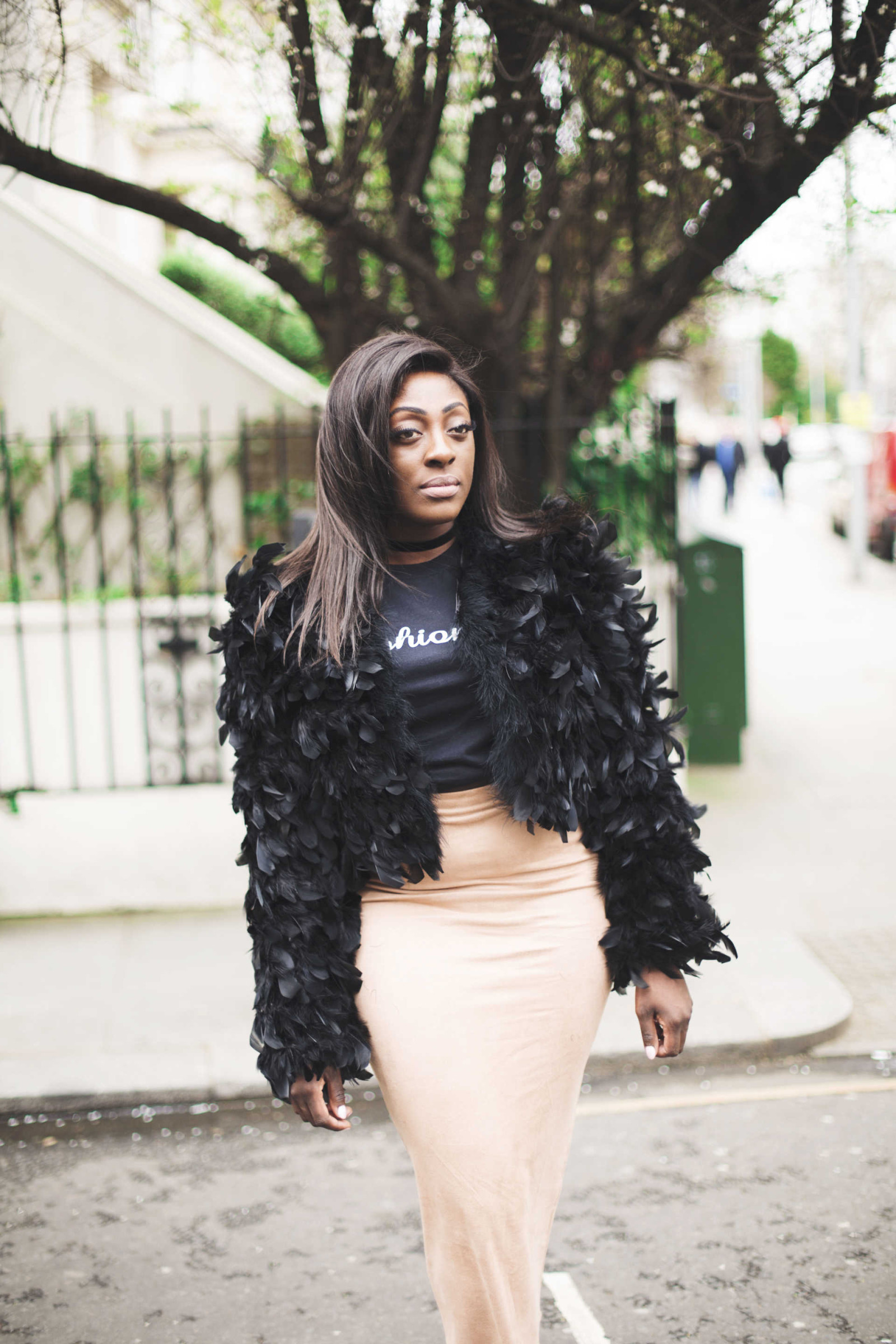 Midi skirt & jacket - style and the sass
