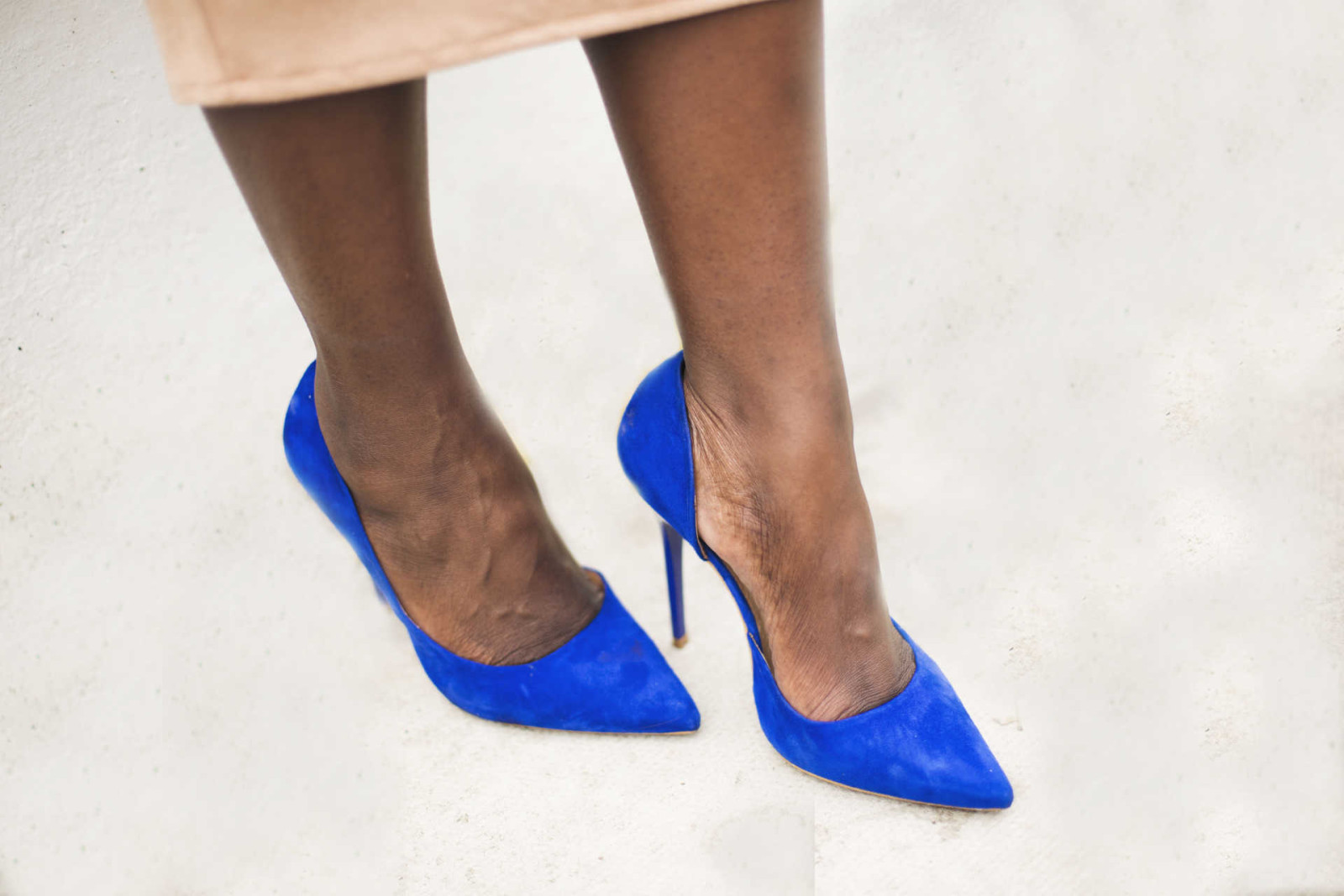 Blue suede shoes - style and the sass