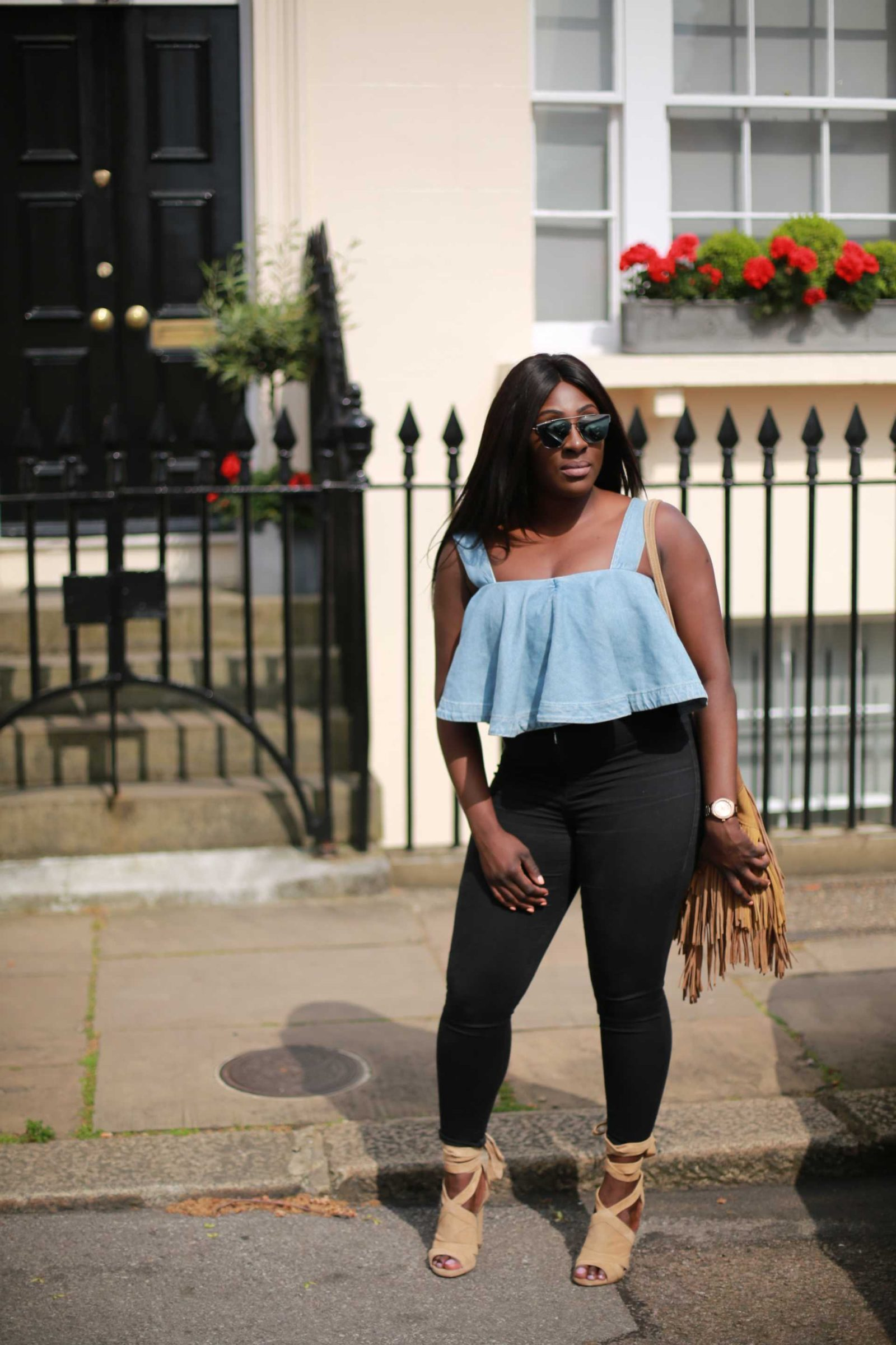 Denim Crop Tops - ASOS - Style and the Sass