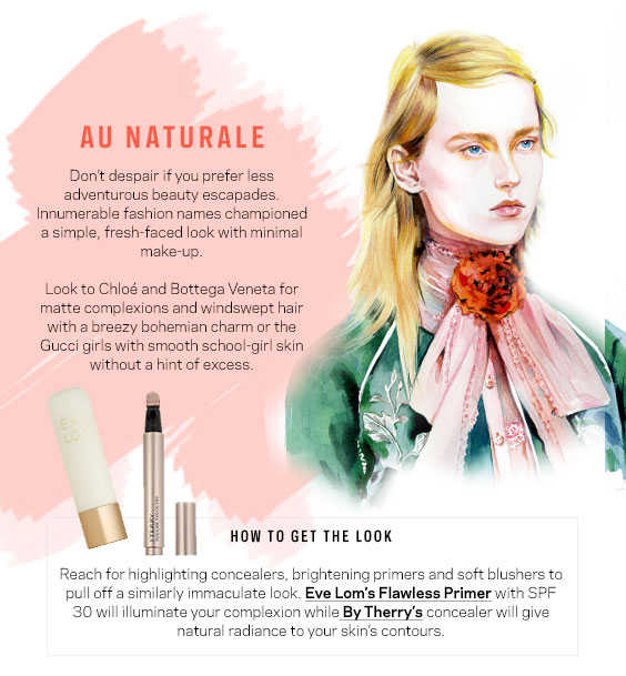 Au Naturale - Best Beauty Looks SS16 - Farfetch - Style and the Sass