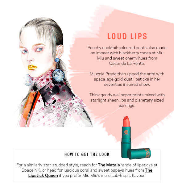 Loud Lips - Best Beauty Looks SS16 - Farfetch - Style and the Sass