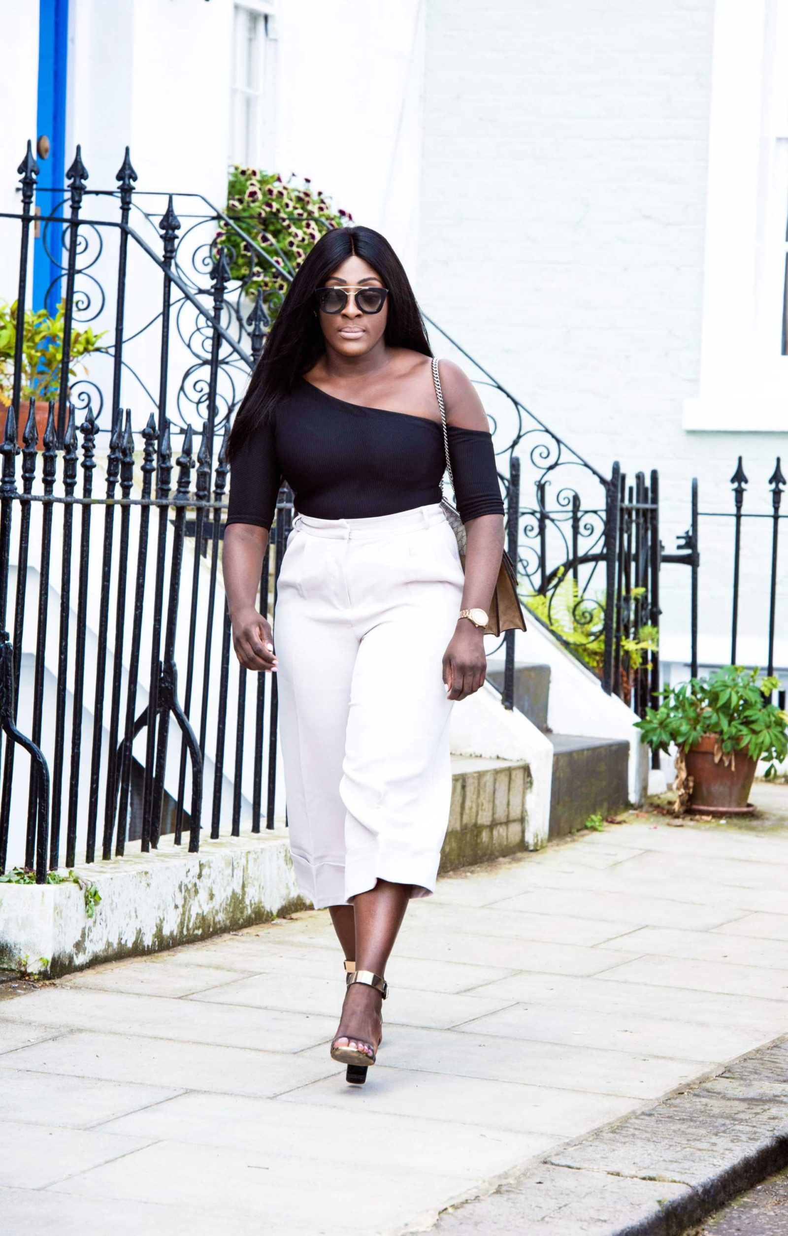 How To Style High Waisted Culottes - Style and the Sass
