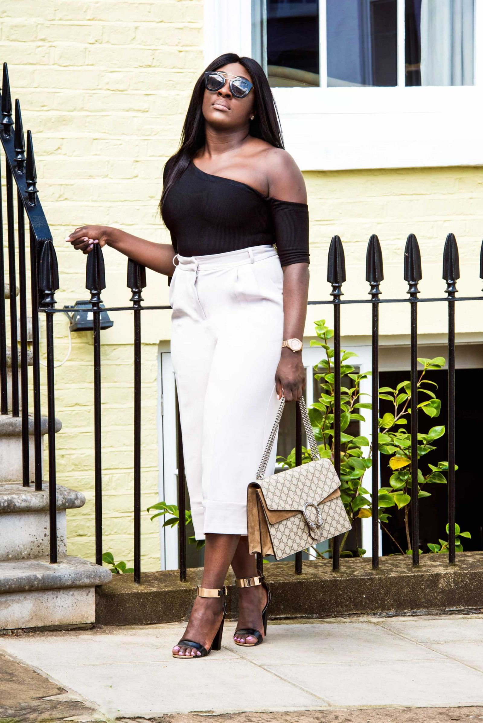 How to Style High Waisted Culottes 3 - Style and the Sass