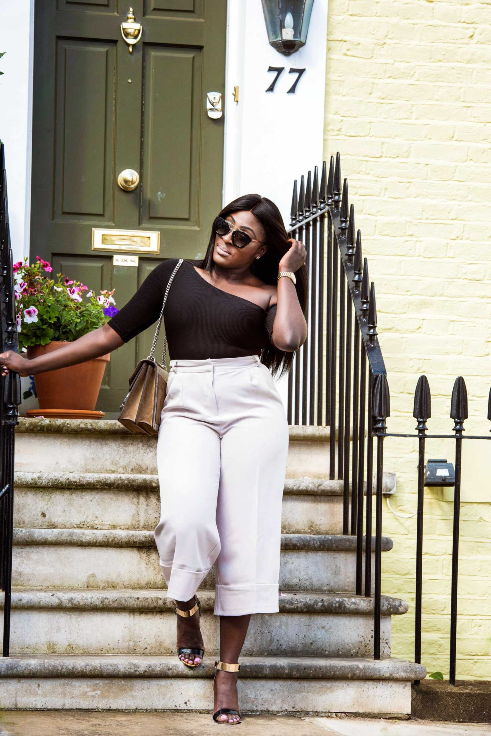 How to Style High Waisted Culottes 2 - Style and the Sass