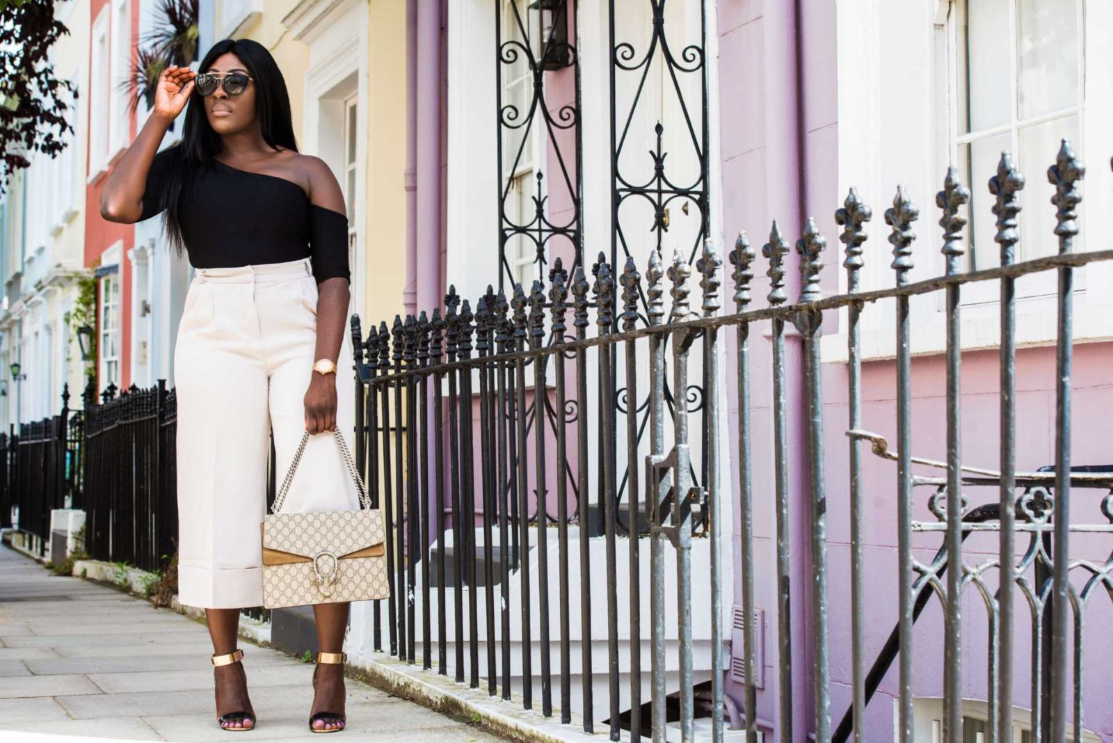 How to Style High Waisted Culottes 4 - Style and the Sass