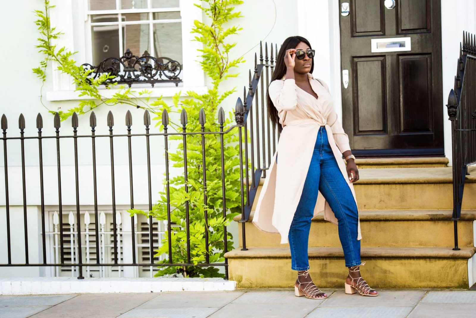 The Maxi Shirt - Time to Transition - Style and the Sass
