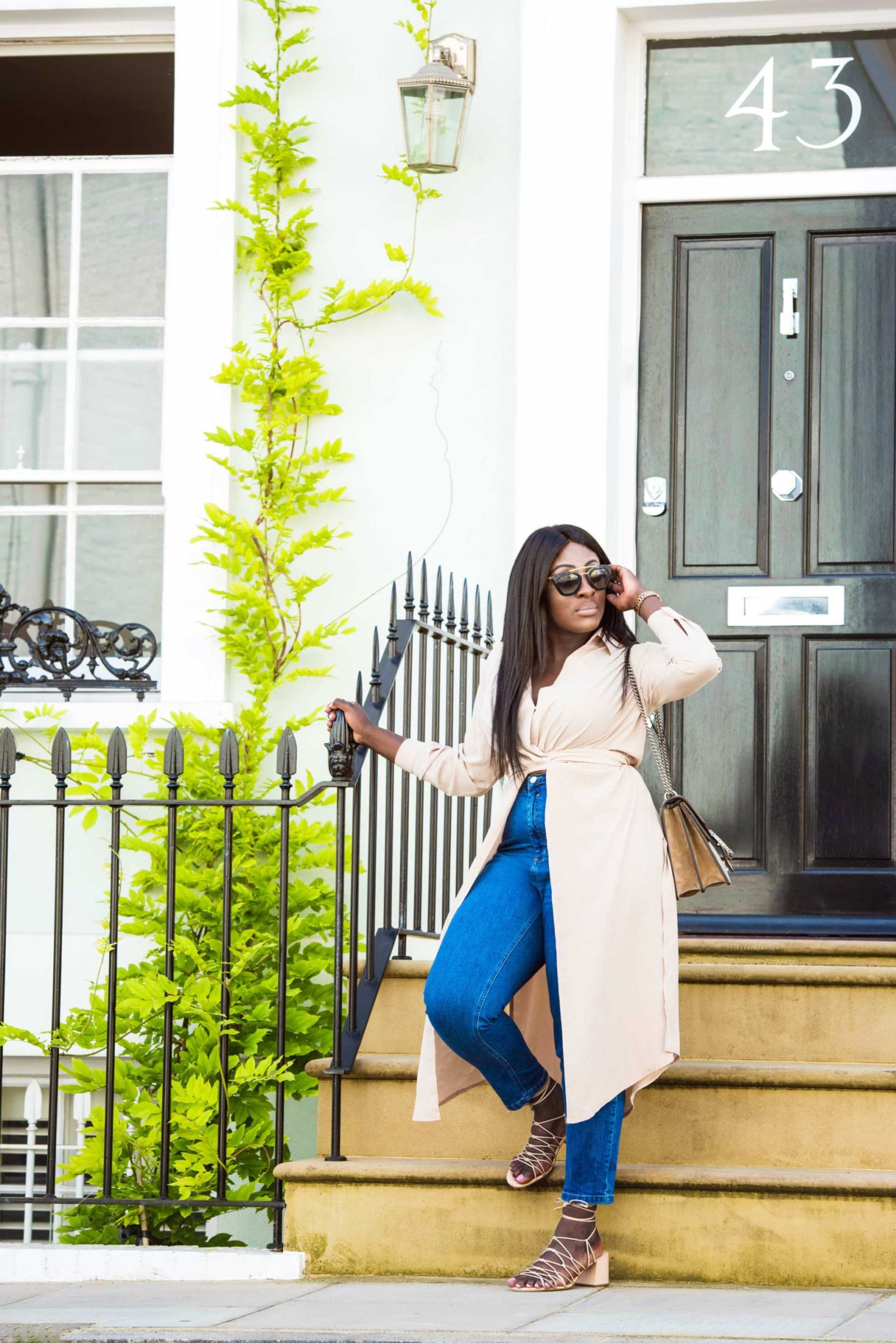 The Maxi Shirt - Time to Transition 2 - Style and the Sass