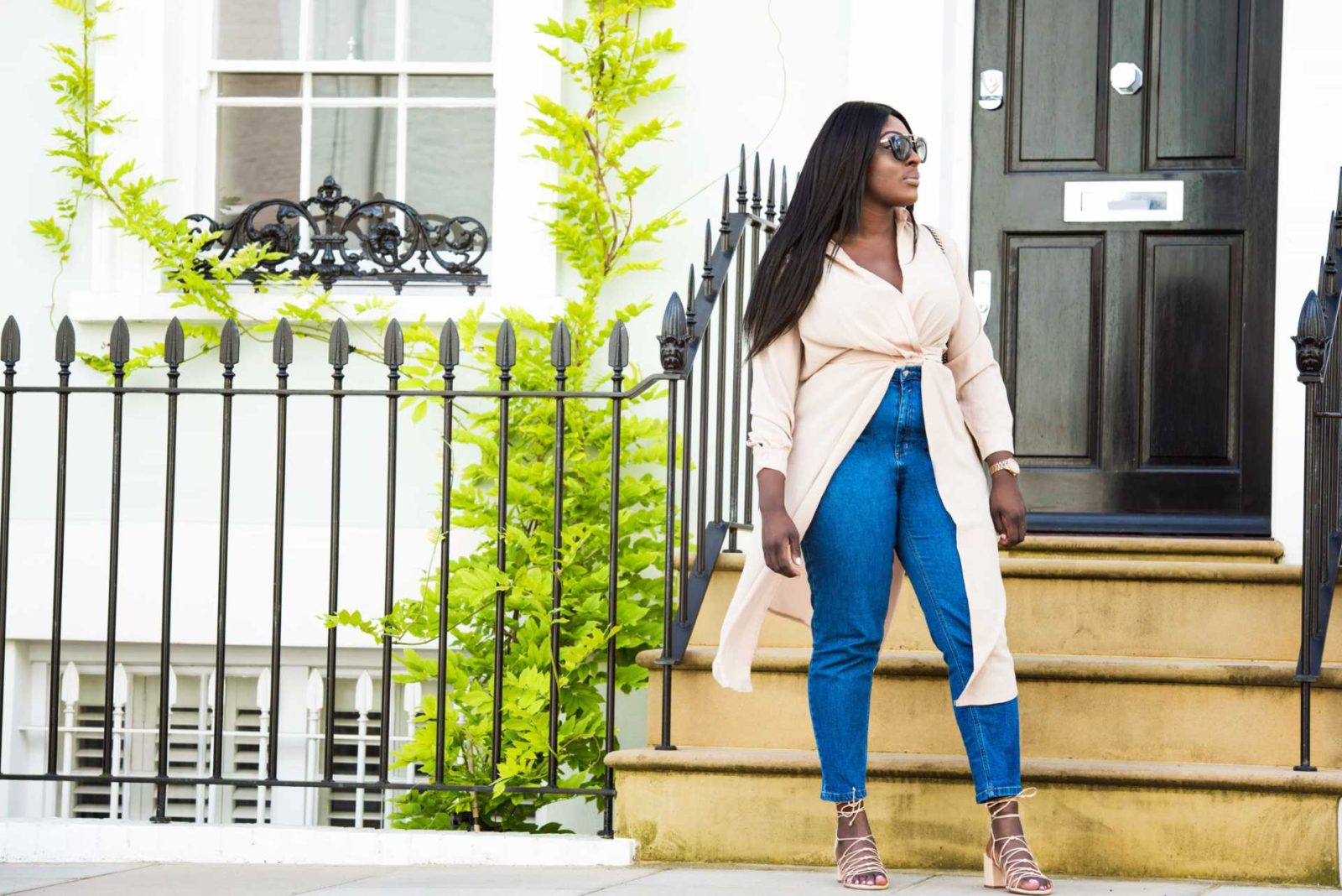 The Maxi Shirt - Time to Transition 1 - Style and the Sass
