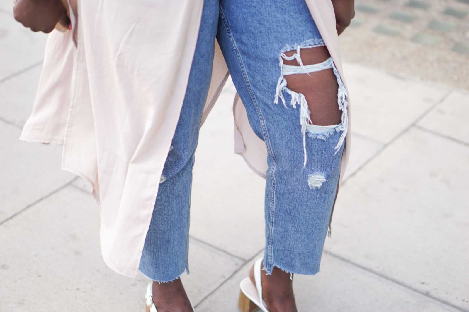 The Ripped Mom Jeans - Style and the Sass