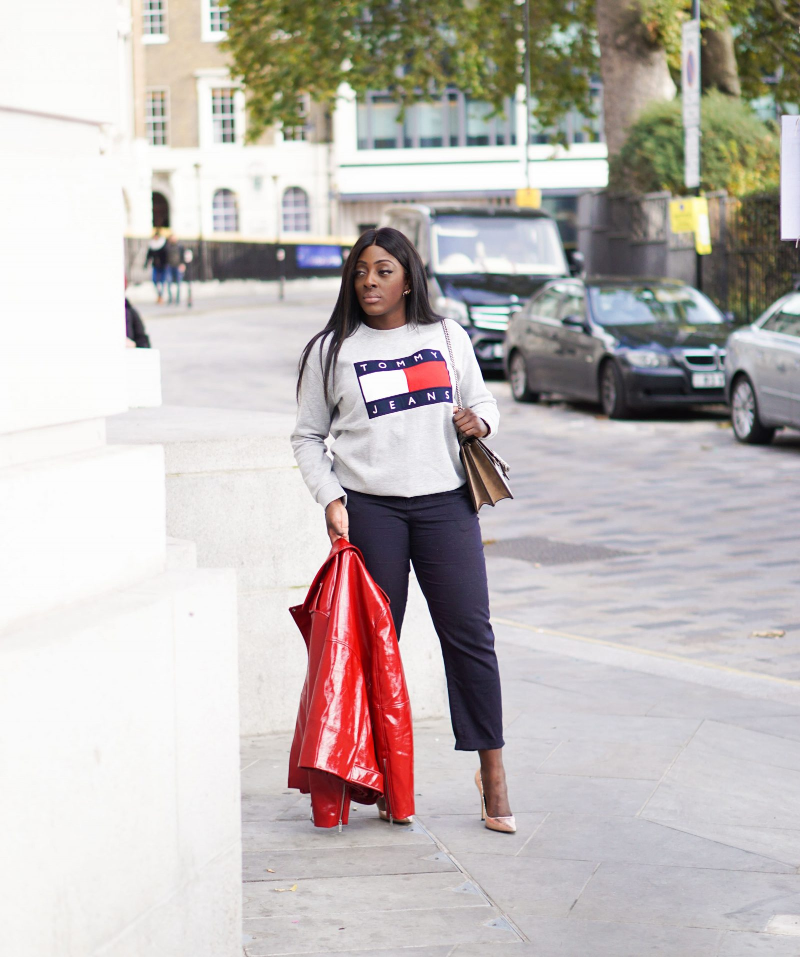 Tommy Jeans & Oversized Logos - Style and the Sass