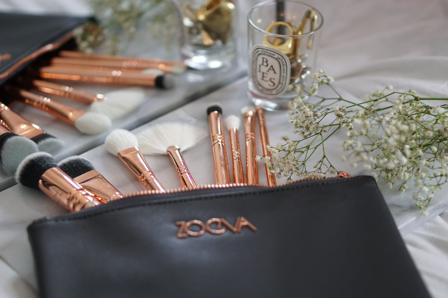 Zoeva - The Rose Gold EditionBrush Set 5 - Style and the Sass