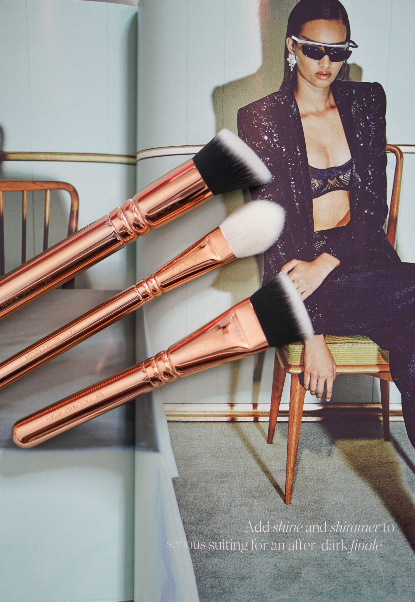 Zoeva - The Rose Gold EditionBrush Set 6 - Style and the Sass