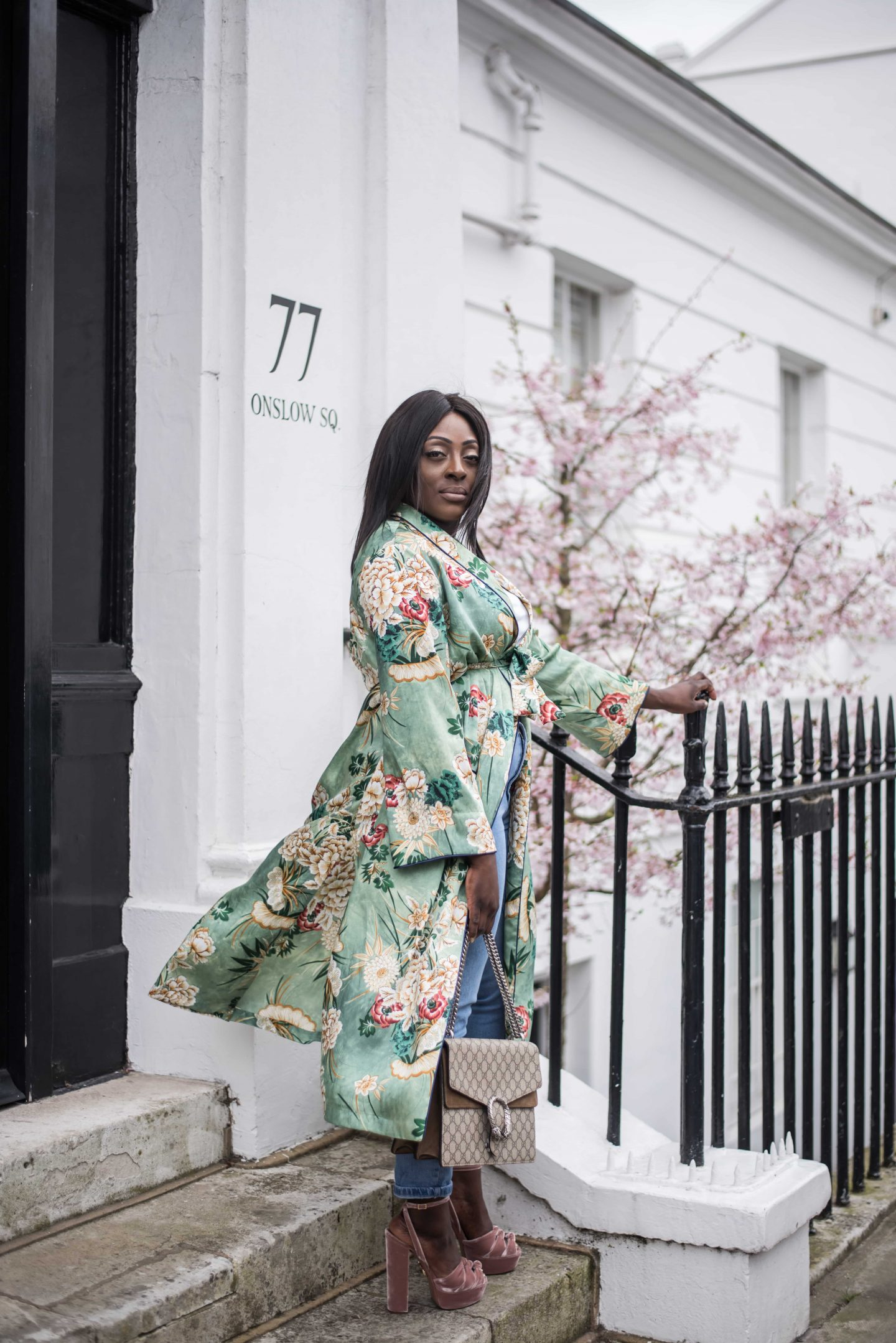 Kimono Spring Bloom's & Aquazzura's 1 - Style and the Sass