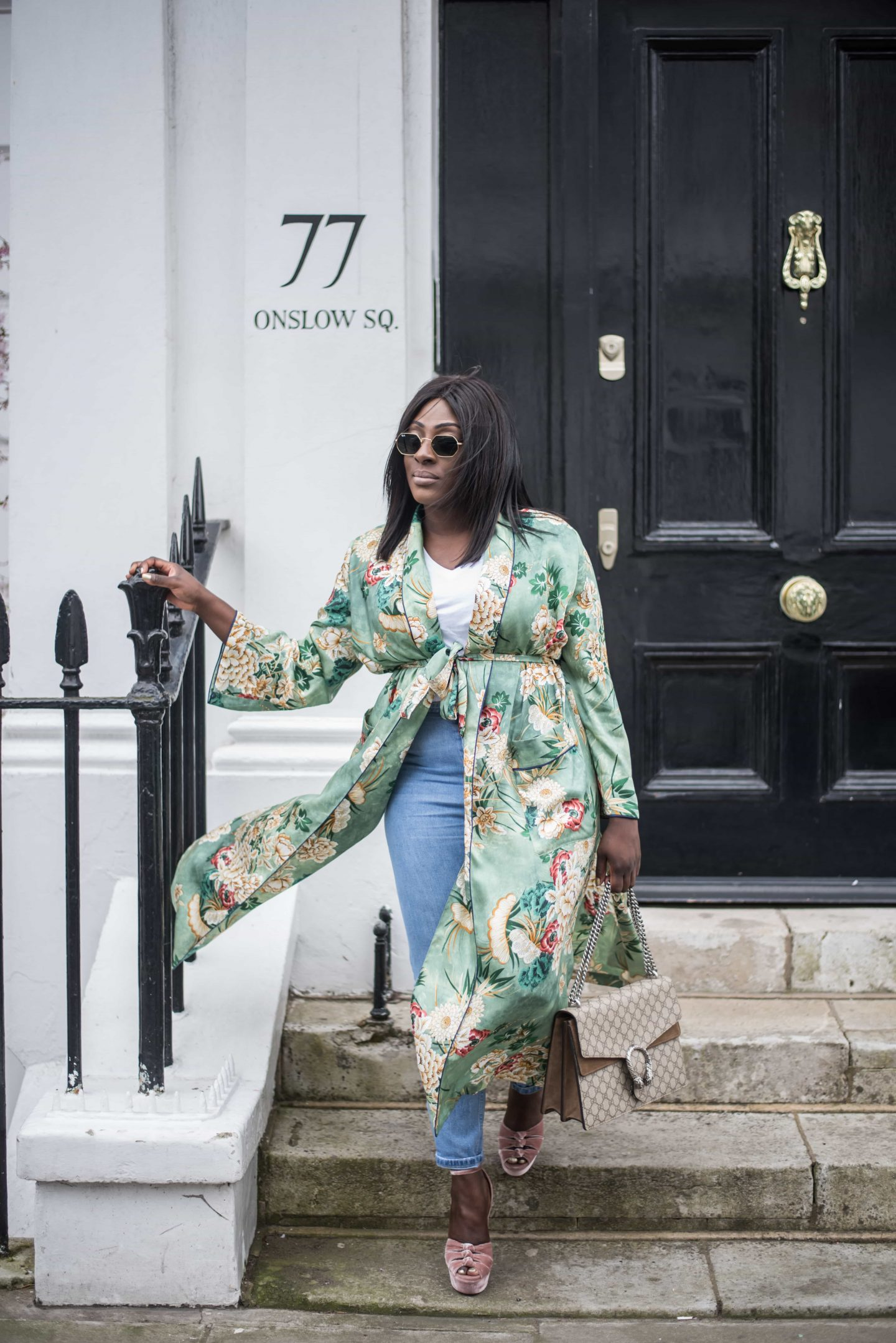 Kimono Spring Bloom's & Aquazzura's 4 - Style and the Sass