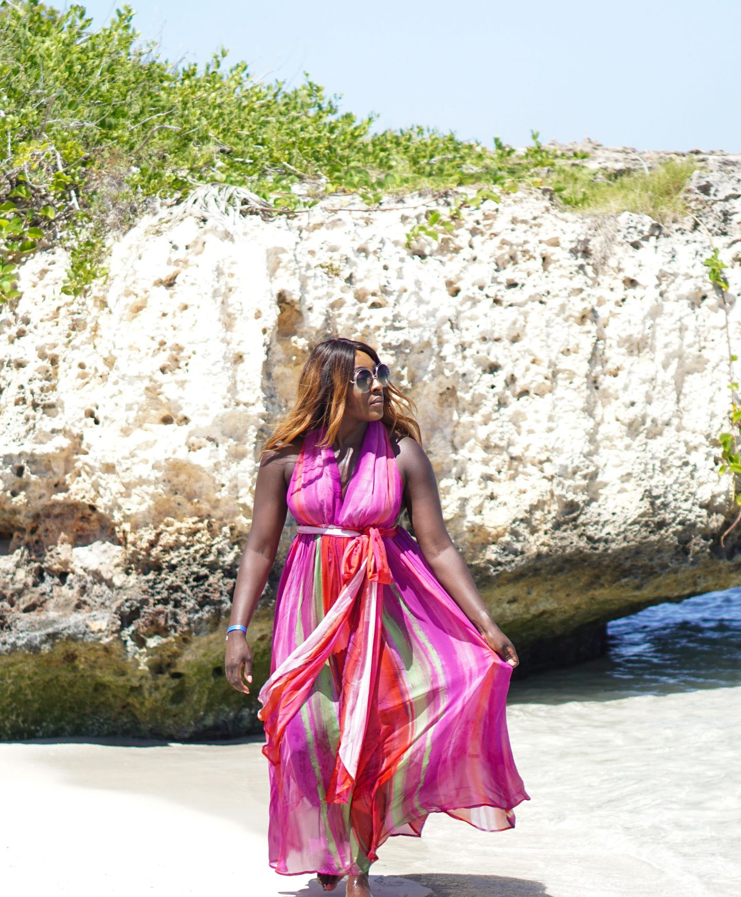 Varadero, Beach Dresses & Chloé Sunglasses 6 - ASOS Beach Dress back - Style and the Sass