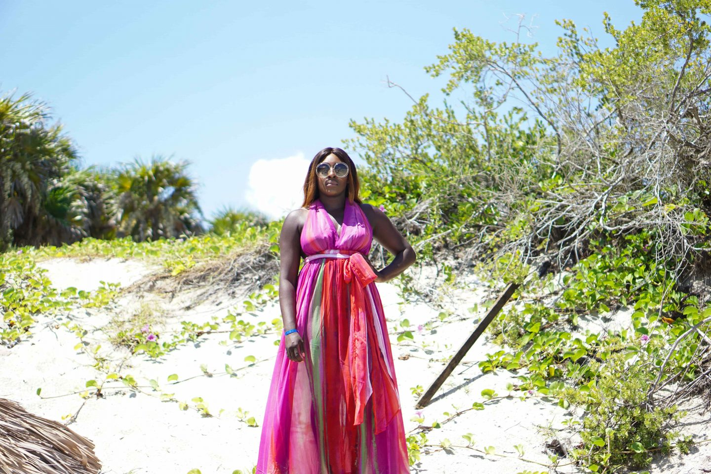 Varadero, Beach Dresses & Chloé Sunglasses 7 - ASOS Beach Dress back - Style and the Sass
