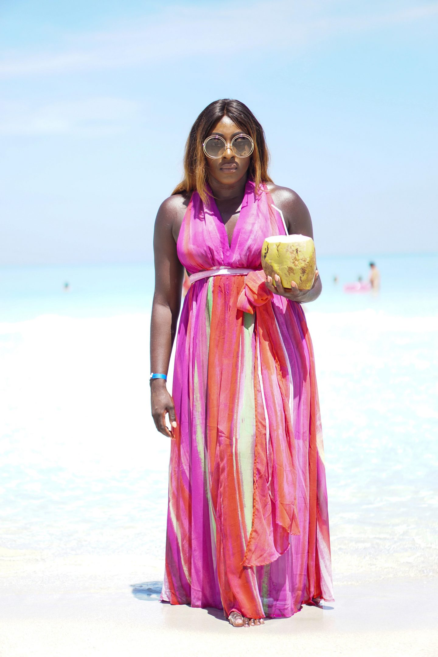 Varadero, Beach Dresses & Chloé Sunglasses 5 - ASOS Beach Dress back - Style and the Sass