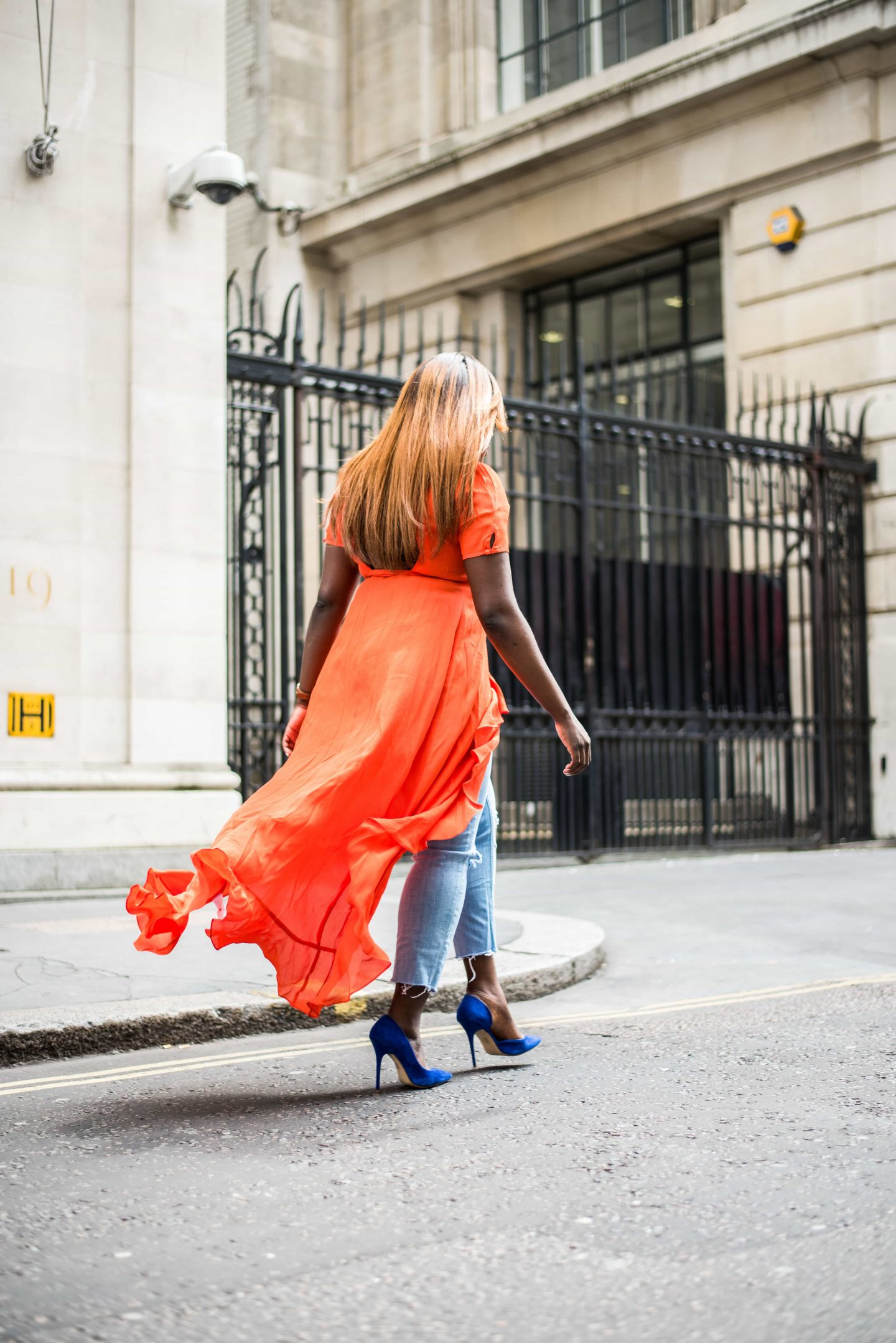 How to Style Your Summer Dresses in Autumn 6 - asos - wrap - dress - office - shoes- Style and the Sass