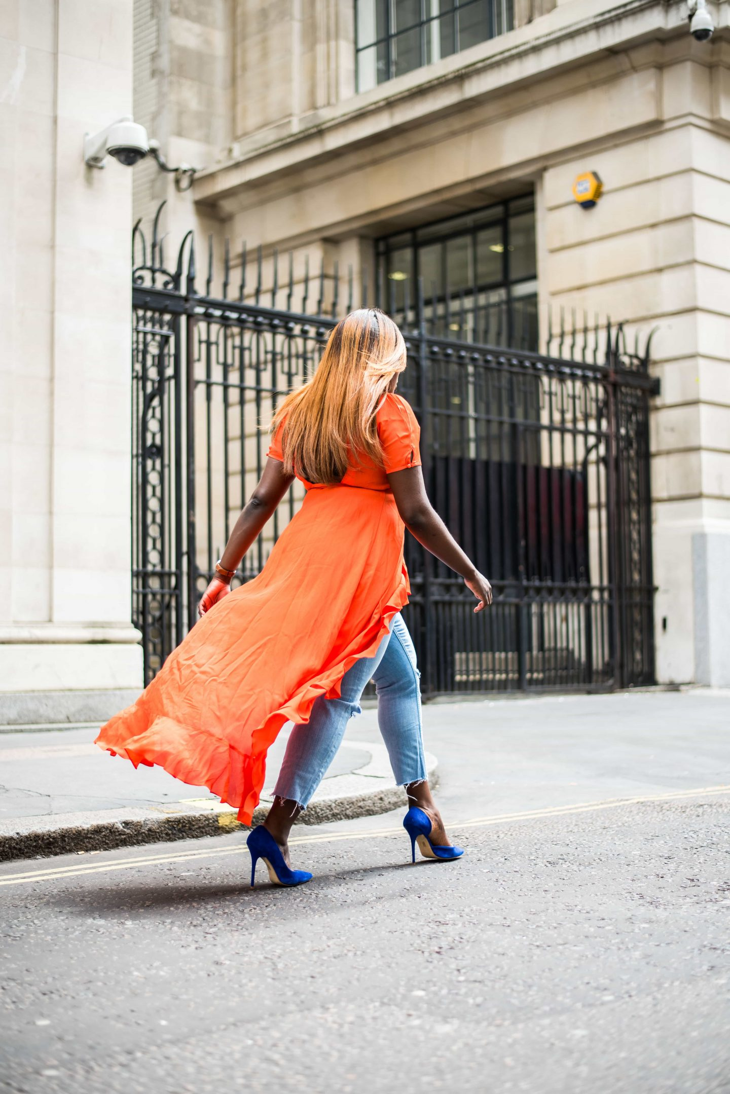How to Style Your Summer Dresses in Autumn 7 - asos - wrap - dress - office - shoes- Style and the Sass