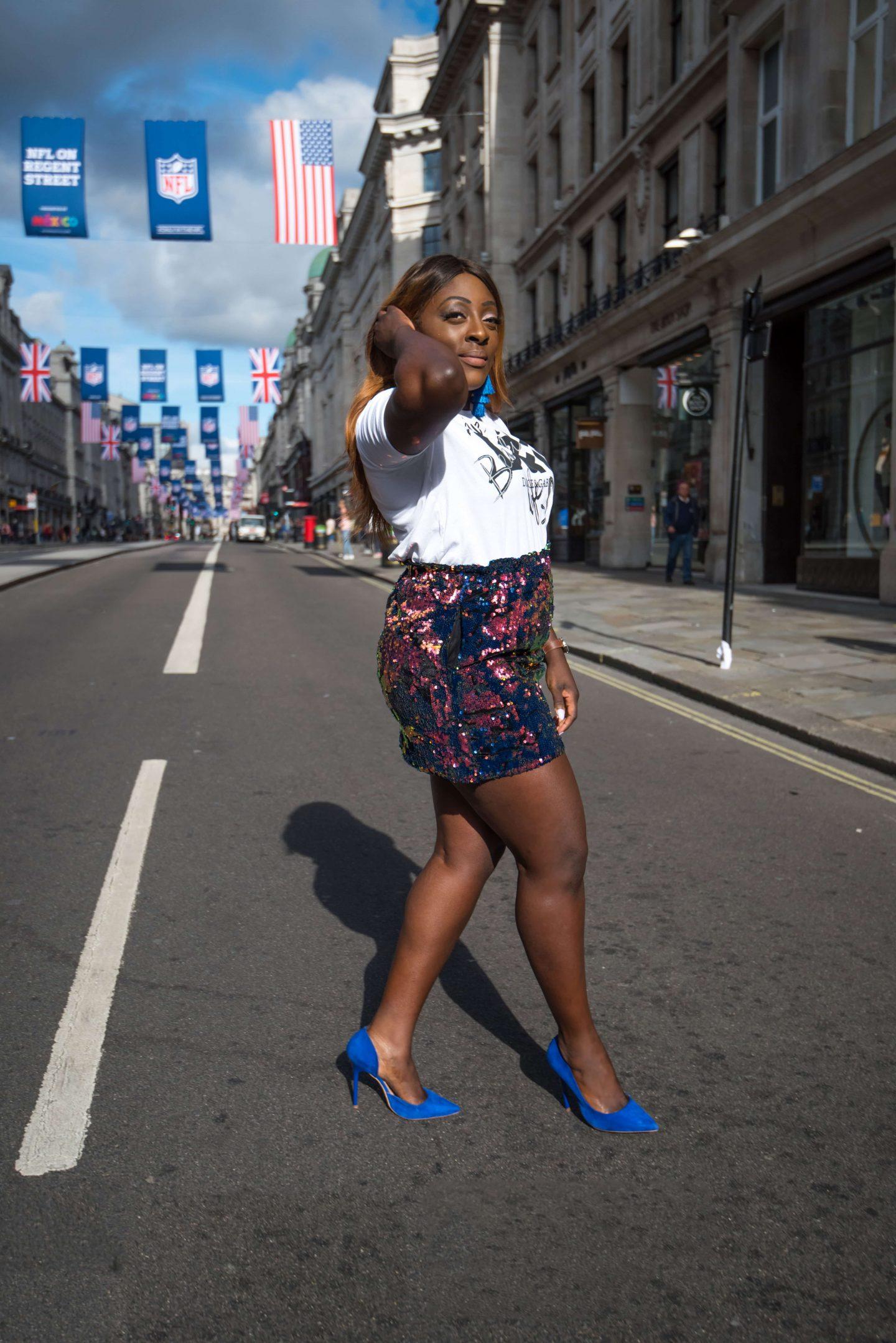 Positive Statements x Dolce & Gabbana 6 - zara skirt - dolce and gabbana t-shirt - alexander wang bag