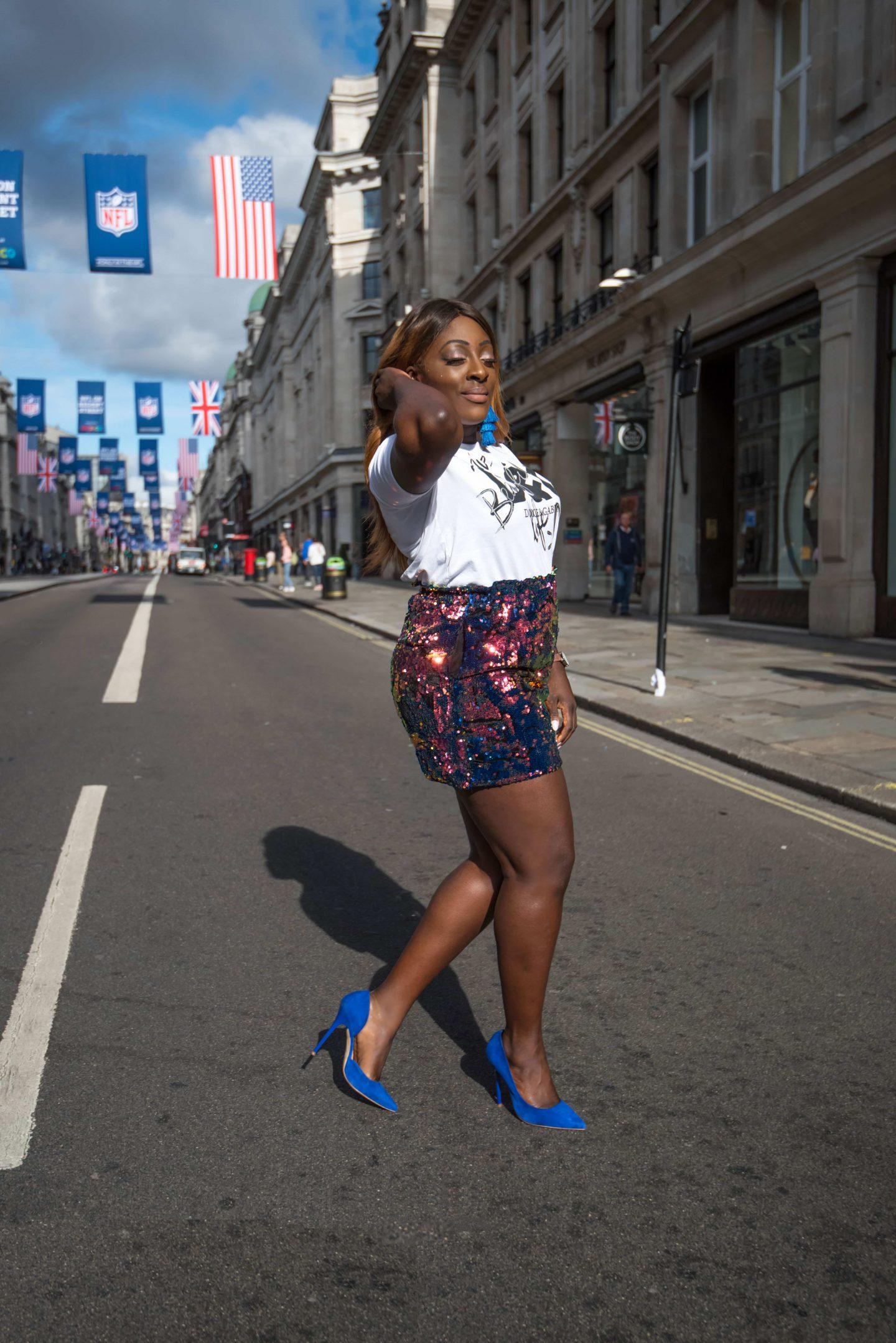 Positive Statements x Dolce & Gabbana 8 - zara skirt - dolce and gabbana t-shirt - alexander wang bag