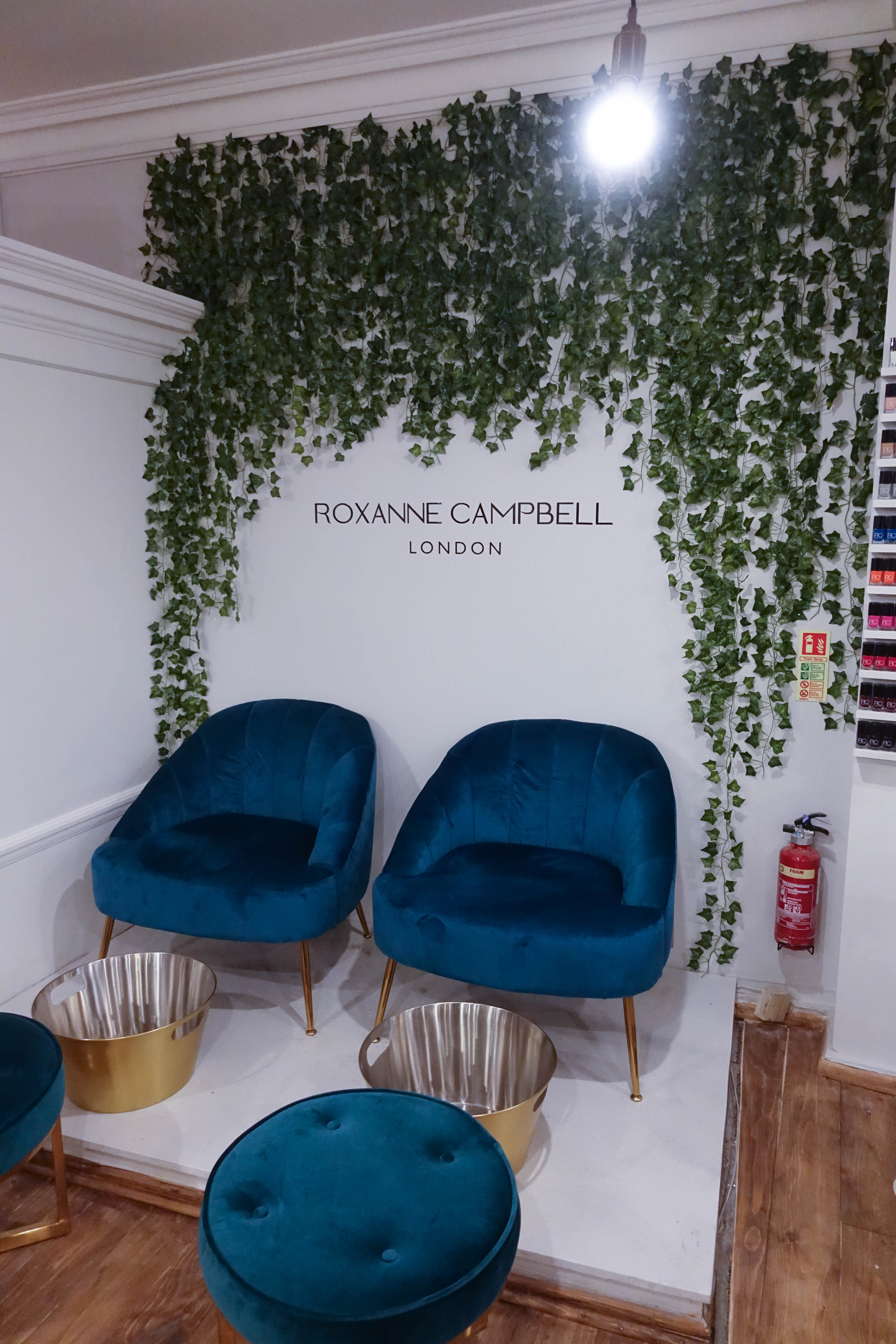 Roxanne Campbell nail studio - rose and wild - pedicure - style and the sass