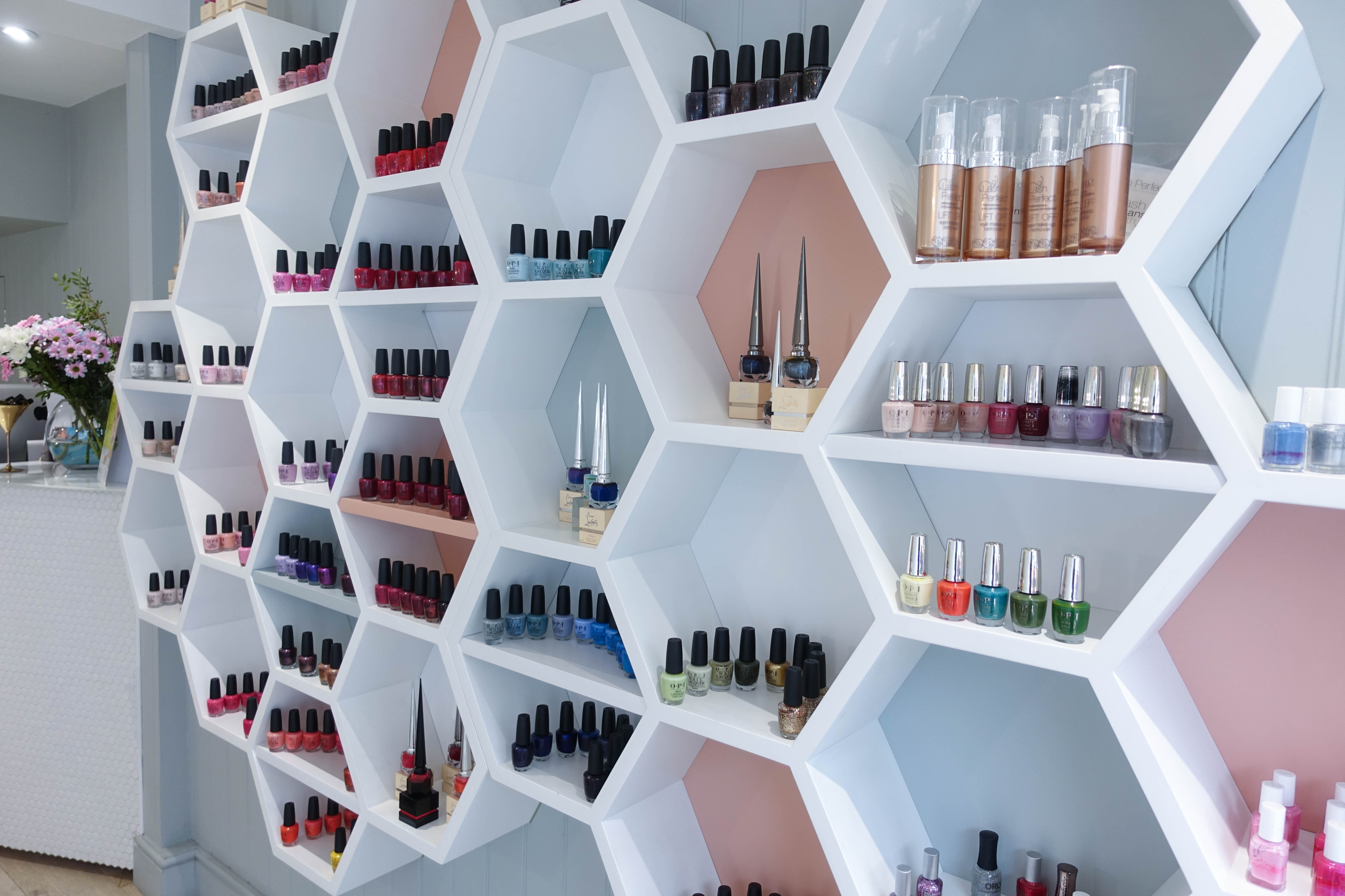 Juju's Beauty Salon - Nail polish wall stand - style and the sass