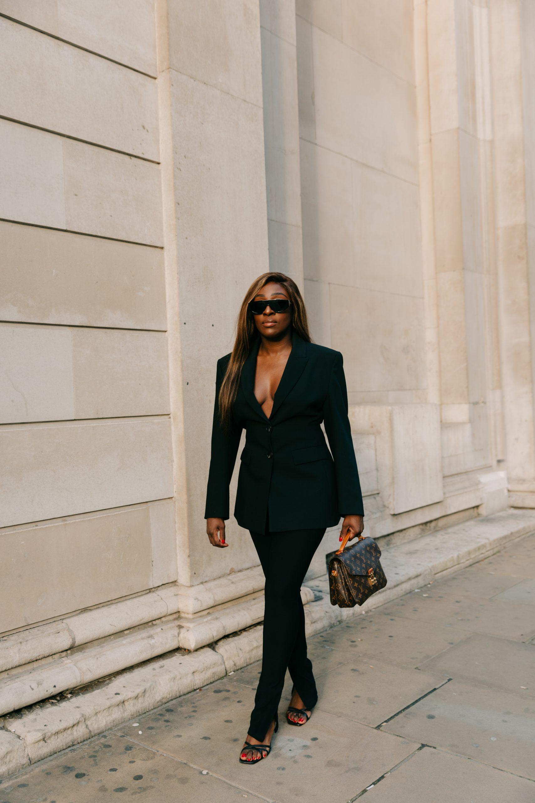 What is SEO? The Basics - Zara fitted blazer - Black blazer - Tasha Antwi