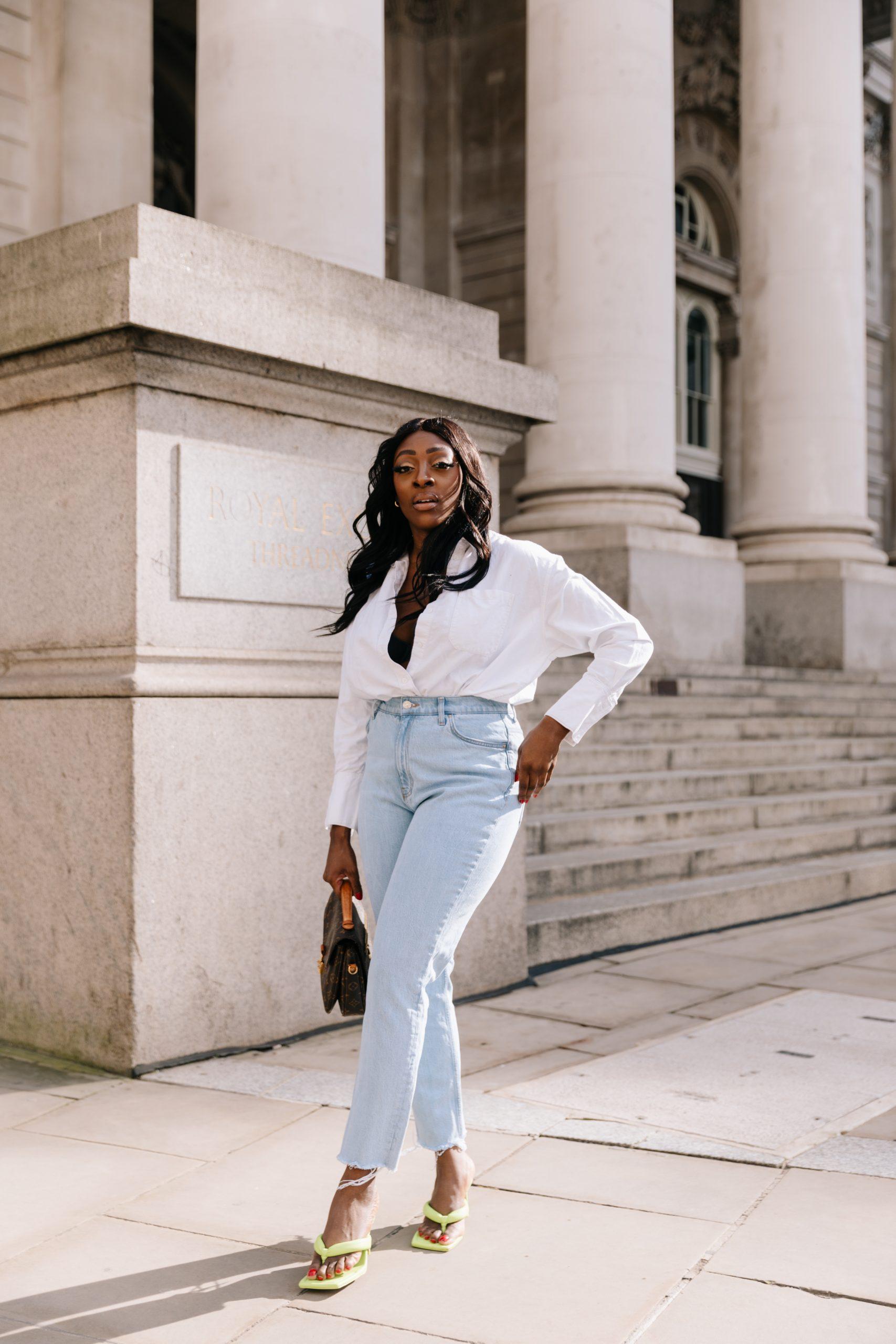 High Waisted Jeans & Denim Trends - high waisted jeans 4 - Tasha Antwi